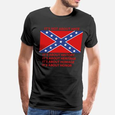 Rebel starsnbars - Men's Premium T-Shirt