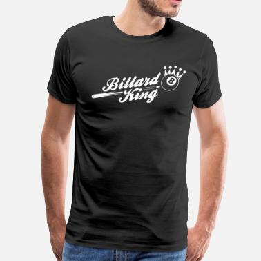 Billard Billard King - Men's Premium T-Shirt