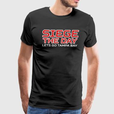 SIEGE THE DAY - Men's Premium T-Shirt