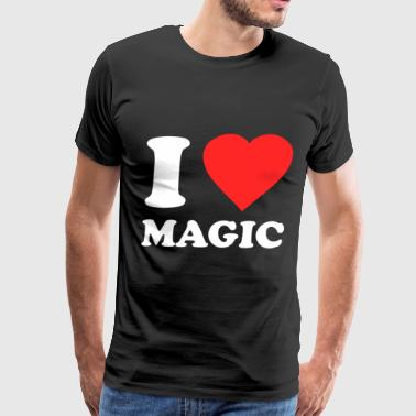 I Love Magic - Men's Premium T-Shirt