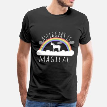 Syndrome Asperger's Syndrome Is Magical - Men's Premium T-Shirt