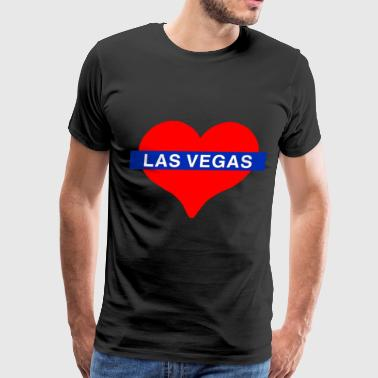 Love Las Vegas I Love Las Vegas - Men's Premium T-Shirt