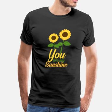 Sunbeam Sunflower Flower Power Flower - Men's Premium T-Shirt