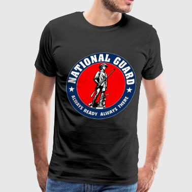 National Guard Emblem - Men's Premium T-Shirt