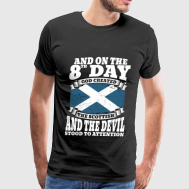 Scottish Rite Scottish - On the 8th day god created the scottish - Men's Premium T-Shirt
