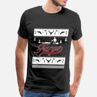 Fargo Fargo - Awesome christmas fargo t-shirt for fans - Men's Premium T-Shirt