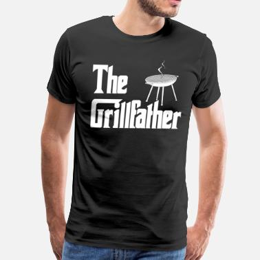 Al Pacino Quotes The Grillfather - Men's Premium T-Shirt