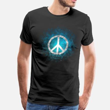 Spring Form Peace Symbol Love Harmony Freedom Spring Summer - Men's Premium T-Shirt