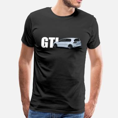 Mk7 Gti Golf MK7 2 Door - Men's Premium T-Shirt