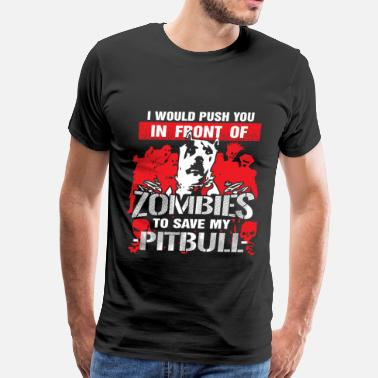 Clothes Pitbull Pitbull - Men's Premium T-Shirt