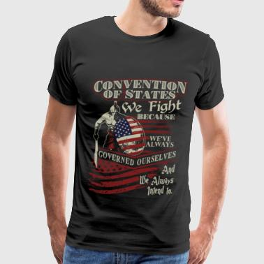 Military Freefall Military - We've always governed ourselves - Men's Premium T-Shirt