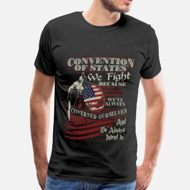 Army Freefall Military - We've always governed ourselves - Men's Premium T-Shirt