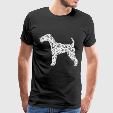 Closer Dog Paws Terrier - Men's Premium T-Shirt