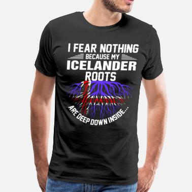 Deep Down Icelander Roots Are Deep Down Inside - Men's Premium T-Shirt