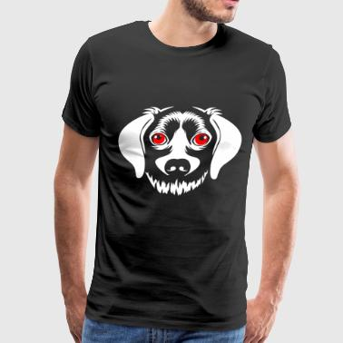 Purebred Dogs scary dog - Men's Premium T-Shirt