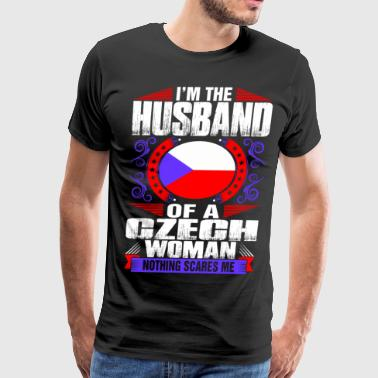 Im Czech Woman Husband - Men's Premium T-Shirt