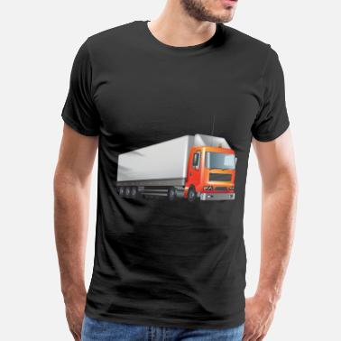 Transport transport truck wagon transportation cars 02 - Men's Premium T-Shirt