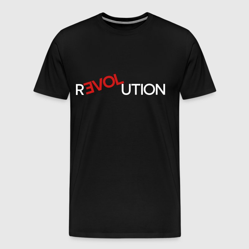 R LOVE UTION - Men's Premium T-Shirt