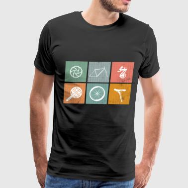 Frame We Love Cycling - Men's Premium T-Shirt