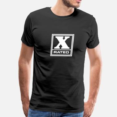 Rated A X-Rated - Men's Premium T-Shirt