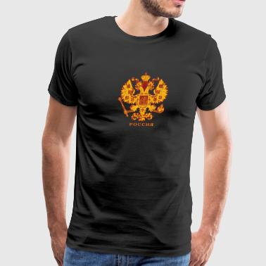 Russian Crest - Men's Premium T-Shirt