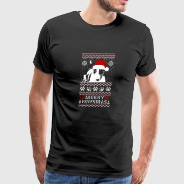 Christmas sweater for Bull Terrier lover - Men's Premium T-Shirt