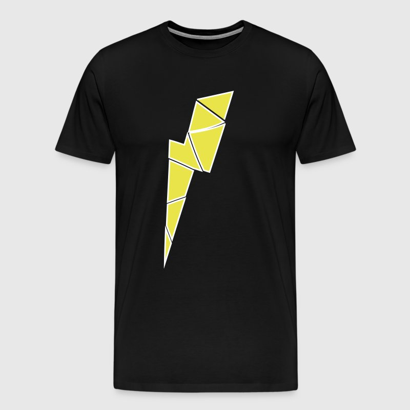 thunder bolt jordan 4 - Men's Premium T-Shirt