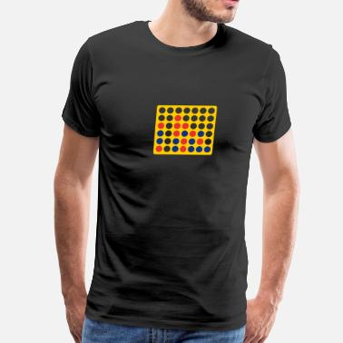 Connect Connect Four game - Men's Premium T-Shirt