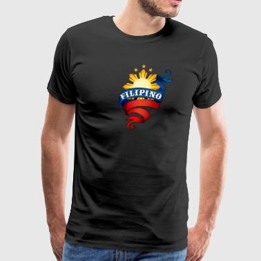 Filipino Logo - Men's Premium T-Shirt