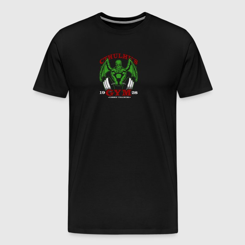 Cthulhu Gym - Men's Premium T-Shirt