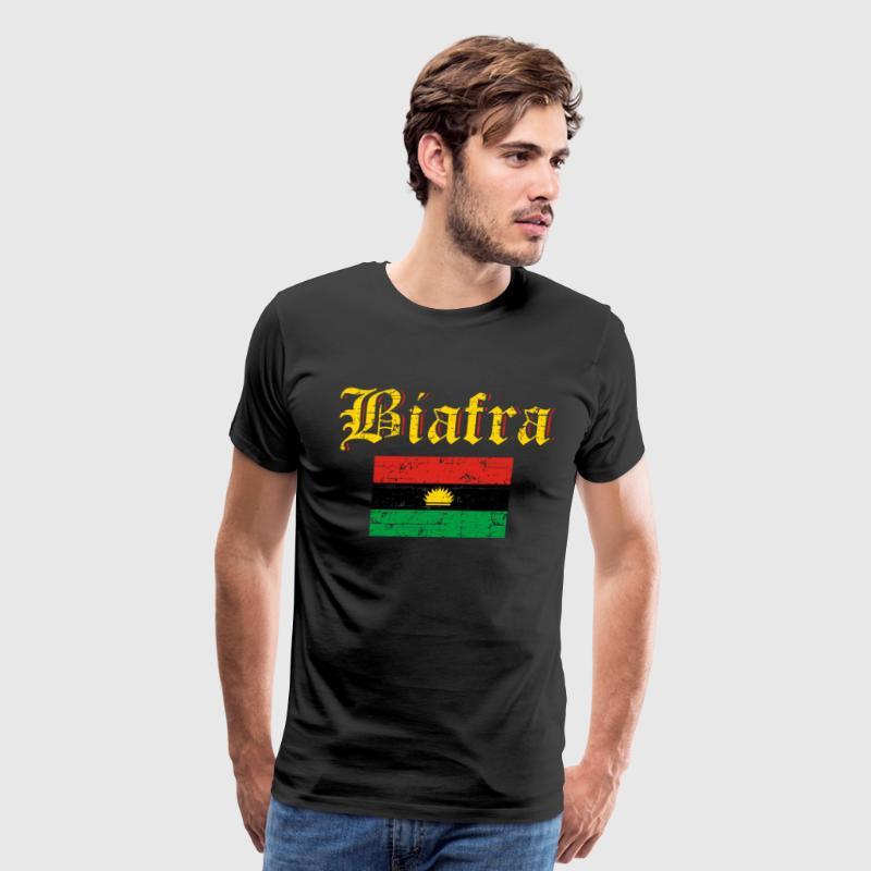 Biafra flag by spreadshirt biafra flag mens premium t shirt altavistaventures Images