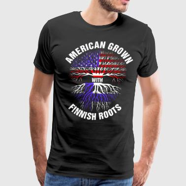 American Grown Finnish Roots - Men's Premium T-Shirt