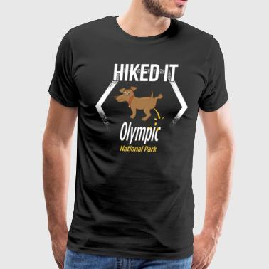 Funny Natioinal Park Olympic National Park Hiking - Men's Premium T-Shirt