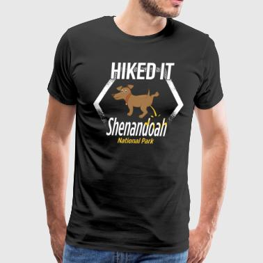 National Park Apparel Shenandoah National Park Hiking - Men's Premium T-Shirt