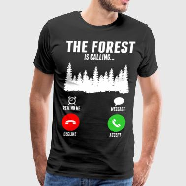 The Forest Is Calling - Men's Premium T-Shirt
