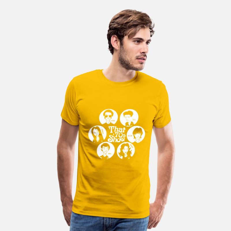 67dea40447c4e That  70s show - Hyde Fez Kelso Jackie Eric Donna Men s Premium T-Shirt