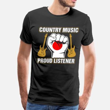 Country Music Baby Japanese Country Music Proud Listner - Men's Premium T-Shirt