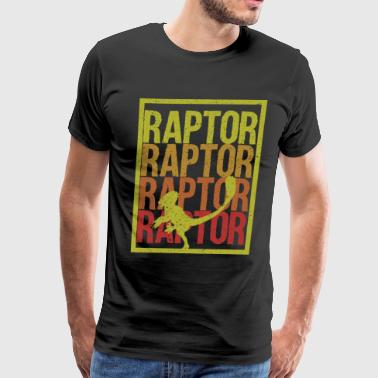 Raptor Dino gift idea - Men's Premium T-Shirt