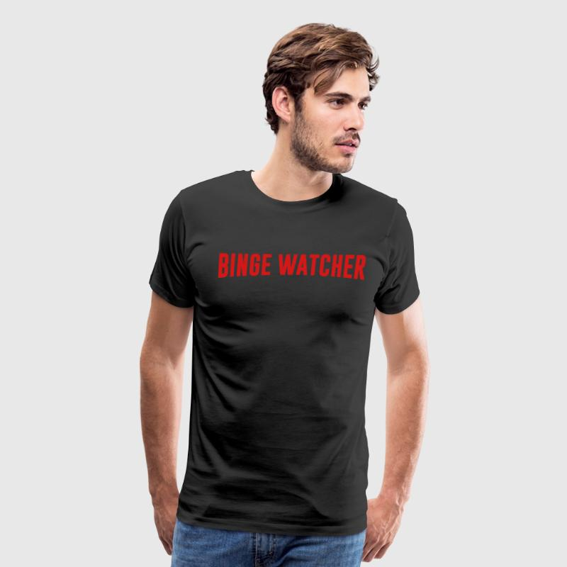 Binge Watcher - Men's Premium T-Shirt