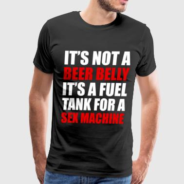 IT'S NOT A BEER BELLY - Men's Premium T-Shirt