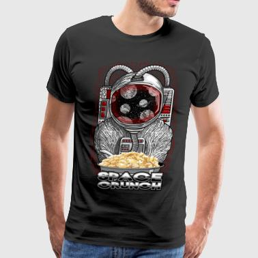 Space crunch astronaut - Men's Premium T-Shirt
