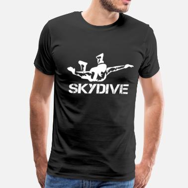 Skydive Freefly Skydive skydive cartoon skydive Skydive  skydive - Men's Premium T-Shirt