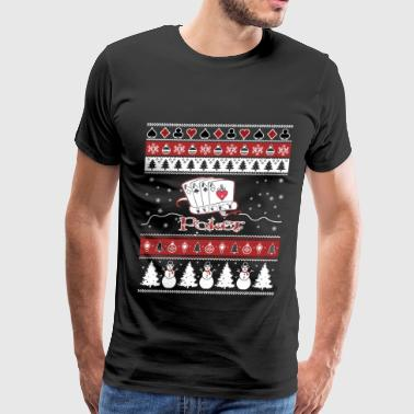 Porn Ace Poker - Awesome christmas sweater for card lovers - Men's Premium T-Shirt