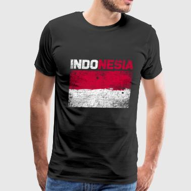 Indonesia Flag Indonesia - Men's Premium T-Shirt