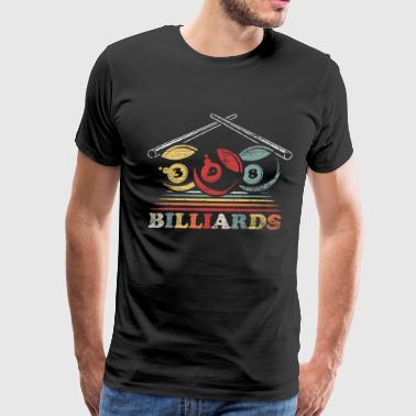 Pool Snooker Billiard - Men's Premium T-Shirt