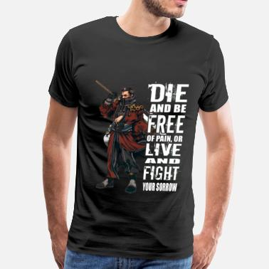 Final Fantasy 6 Final Fantasy - Die and be free of pain t-shirt - Men's Premium T-Shirt