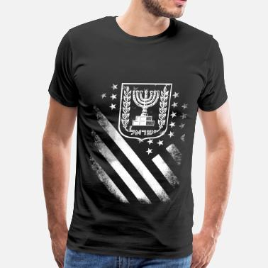 Orthodox Jewish Proud to be american jewish - Men's Premium T-Shirt