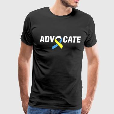 Down Syndrome Advocate - Men's Premium T-Shirt