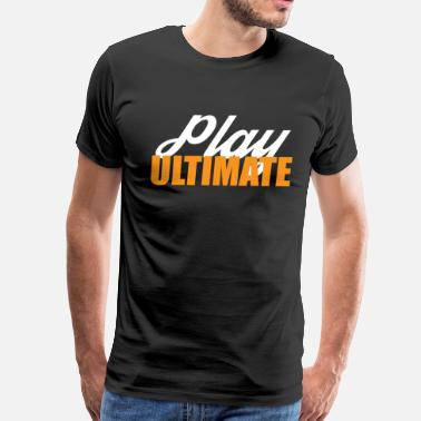 Color Play Play Ultimate Frisbee For Dark Colors - Men's Premium T-Shirt