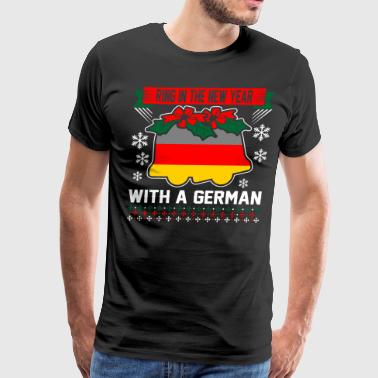 Ring In The New Year With A German - Men's Premium T-Shirt